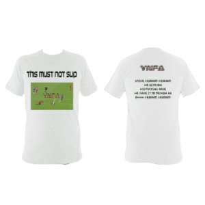 "YNFA T-SHIRT ""THIS MUST NOT SLIP"""